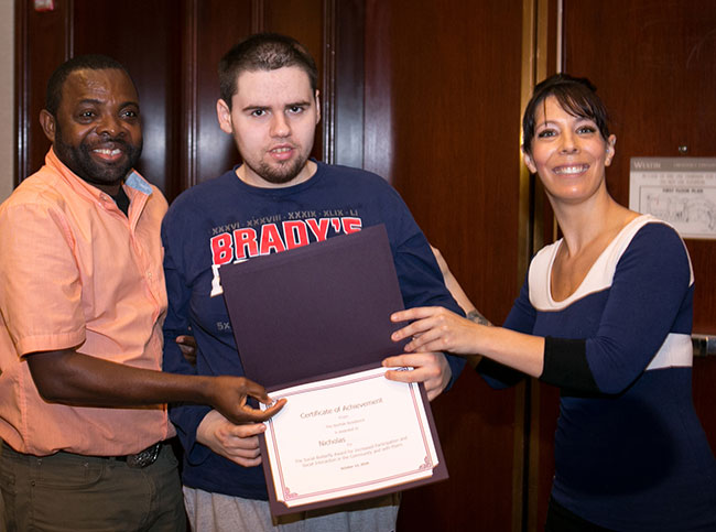 More than 50 individuals were honored at the annual Adult Residential Program Awards Ceremony.