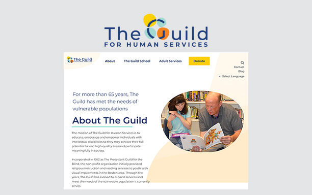 The Guild launched a new website and logo