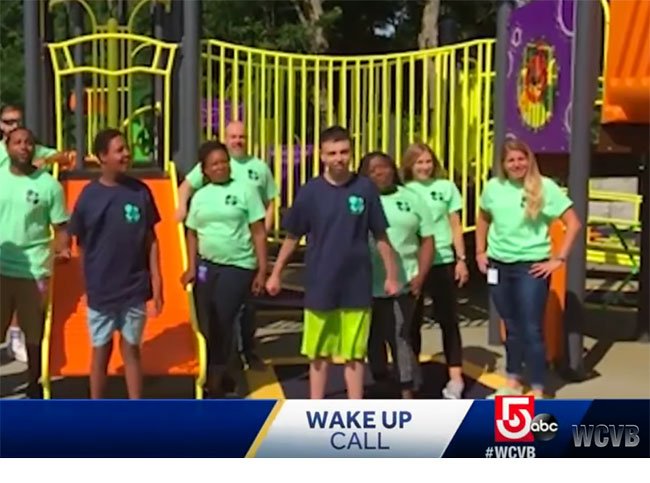 Screenshot of Guild on WCVB Wakeup Call