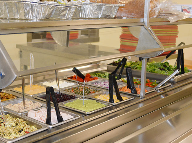Salad Bar Cafeteria