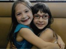 Amy Sousa's daughters are best friends.