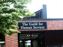Front of The Guild School